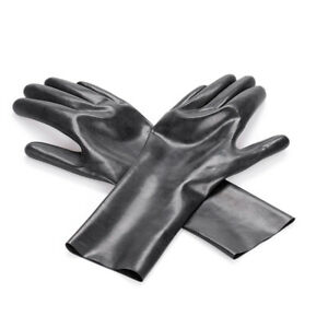 100% Latex Middle Rubber Gloves Latex Mitt Sexy Costumes Accessories S M L