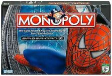 Spider-man Monopoly Movie Edition Board Game Marvel Hasbro Parker Brothers 2006
