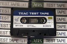 1PCS NEW TEAC MTT-141N CROSSTALK 1KHZ (4 TRACK) TEST TAPE