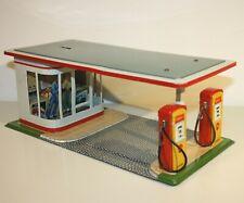 Arnold Tankstelle SHELL aus Blech (1950er Jahre)