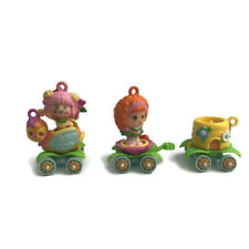 Charmkins Hasbro Vintage Sweat Bea and Honey Train Freckle Face Charms