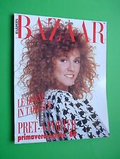 Harper's BAZAAR ITALIA Febbraio 1988 n.2 February Pret a Porter Primavera Estate