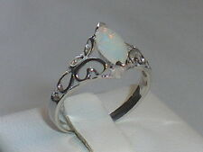 Handmade Solitaire Sterling Silver Fine Rings