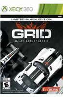 GRID Autosport Xbox 360/Xbox One/series x Racing Game Black Edition Kids
