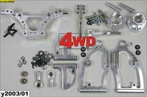 Tuning Alu-Vorderachsset, FG 4WD Sportsline Modelle - y2003 front suspension set