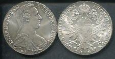ÖSTERREICH 1780 - 1 Maria Theresia Taler in Silber, stgl. - spätere Prägung