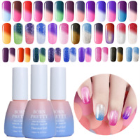 10ml Thermal Farbwechsel Schimmern Soak Off UV Gel Nagellack Tipps Born Pretty