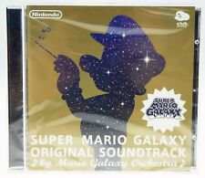 Super Mario Galaxy Original Soundtrack Orchestra NINTENDO CLUB NEU NEW SEALED #2