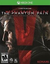 Metal Gear Solid 5 The Phantom Pain MGS V - Xbox One Game - NEW SEALED