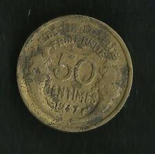 50 ct Morlon Bronze Alu 1947