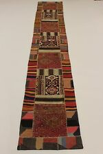look antique nomades patchwork délavé PERSAN TAPIS tapis d'Orient 5,65 X 0,88