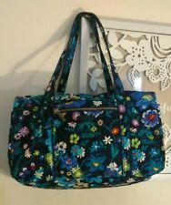 NWT Vera Bradley Iconic Small Duffel Travel Gym Bag in Moonlight Garden Floral