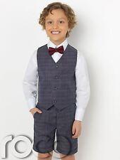 Boys Waistcoat Suit, Boys Check Suits, Boys Suits, Boys Short Suit, Page Boy