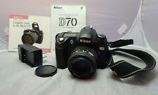 Nikon D70 Digital SLR Camera with Nikon AF NIKKOR 35-70mm Lens