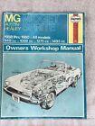 MG Midget & Austin-Healy Sprite (58-80) models covered  (E1)