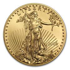 2016 1/10 oz Gold American Eagle BU - SKU #93746