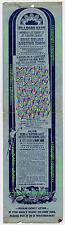 Fillmore East 'Rock Relics' Auction Flyer 1970