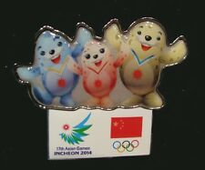 Brand New 2014 China Olympic NOC Internal team Incheon pin Very RARE
