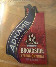 Adnams Broadside Strong Original beer bottle label