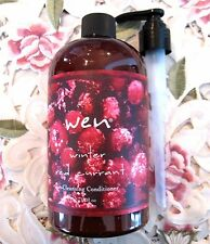 WEN by Chaz Dean CLEANSING CONDITIONER WINTER RED CURRANT~16 oz w/ Pump *NEW*
