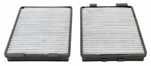 For BMW 5 Series E39 520 528 530 540i New Active Carbon Pollen Cabin Filter 2pcs
