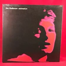 JON ANDERSON Animation 1982 UK Vinyl LP EXCELLENT CONDITION YES