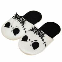 The Nightmare Before Christmas Jack Skellington Slippers Plush Warm Shoes Gift