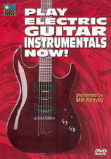 PLAY ELECTRIC GUITAR INSTRUMENTALS NOW! NEW DVD