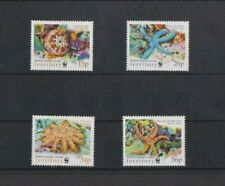 British Indian Ocean Territory 2001 WWF Sea Stars set MNH per scan