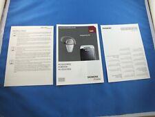 Original Siemens S65 Accessories Accessory Accessories Catalogue Brochure Booklet