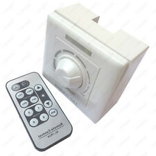 180W IR Remote Control LED Light SCR Dimmer AC220V Adjustable Wall Switch Lamp