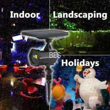12 Patterns Laser Landscape Projector LED Light Party Xmas Lamp Home Decor AU
