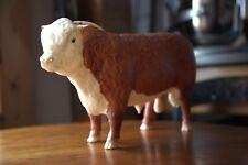 BREYER  BULL COW ANIMAL TRADITIONAL HEREFORD