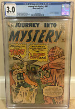 JOURNEY INTO MYSTERY #90 CGC 3.0 1ST APPEARANCE OF THE XARTANS