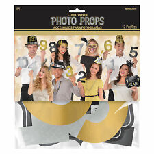 Countdown to Midnight Numbers New Year Photo Booth Photo Props Party Ideas
