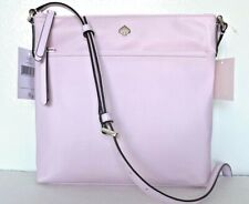 New Kate Spade New York Jae Flat Crossbody Nylon handbag Serendiptiy Pink