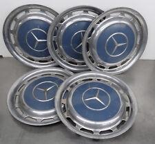 Oldtimer Teile - Alte gebrauchte Mercedes Benz  Radkappen 5 Stück