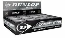 Dunlop Competition Squash Balls Tube of 12