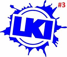 Large LKI LOOSEKID INDUSTRIES Decal Sticker Car Window Ute 4WD Moto Graphics JDM