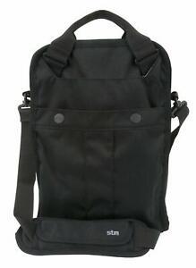 """STM Small Flight 13"""" Laptop Shoulder Bag (Black) NEW"""