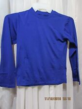 Watson's Boy's Thermal Base Layer Top Royal Blue size 10-12