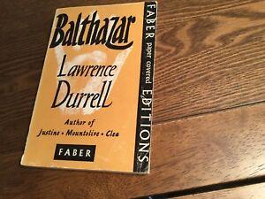 Balthazar by Lawrence Durrell (Alexandria Quartet) ~ Faber 1958 Paperback