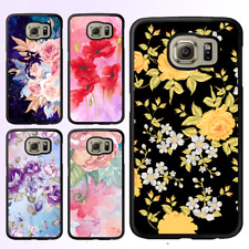 Galaxy S9 S8 Plus S7 Edge S6 S5 Note 8 5 Bumper Case Flower V Cover For Samsung