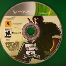 Grand Theft Auto: San Andreas (Microsoft Xbox 360, 2008) Disc Only # 14747