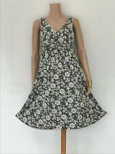 Gorgeous LK Bennett Blue Jersey Lace Floral Fit & Flare Dress UK 10 EU 38 US 6