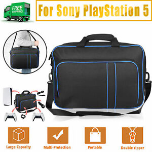 Travel Storage Carrying Case Pouch Shoulder Bag for PS5 Game Console Accessories