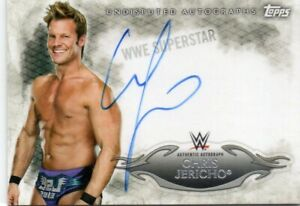WWE Chris Jericho 2015 Topps Undisputed Authentic On Card Autograph SUPERSTAR