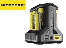 New Nitecore i8 LED battery charger ( AA / AAA / C / D / 18650 / 26650 )
