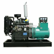 New Listing40kw Military Generator Engine Diesel Quiet Standby Brush Alternator Genset