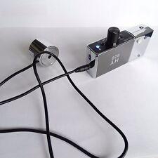 New Audio Voice Earphone Listening Device Amplifier Bug Wall/Door Spy Microphone